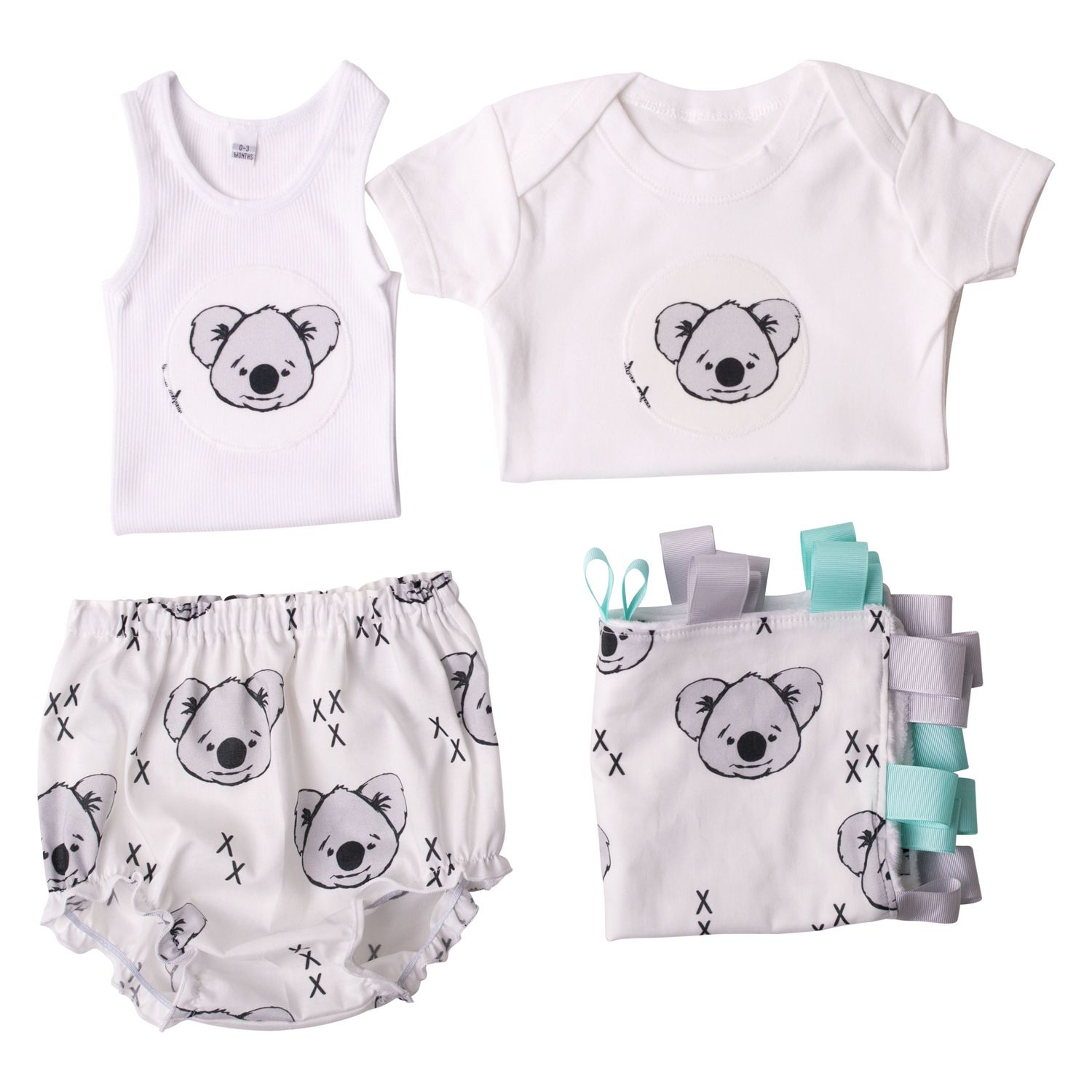 Boys Flat Lay Collection Koala Love
