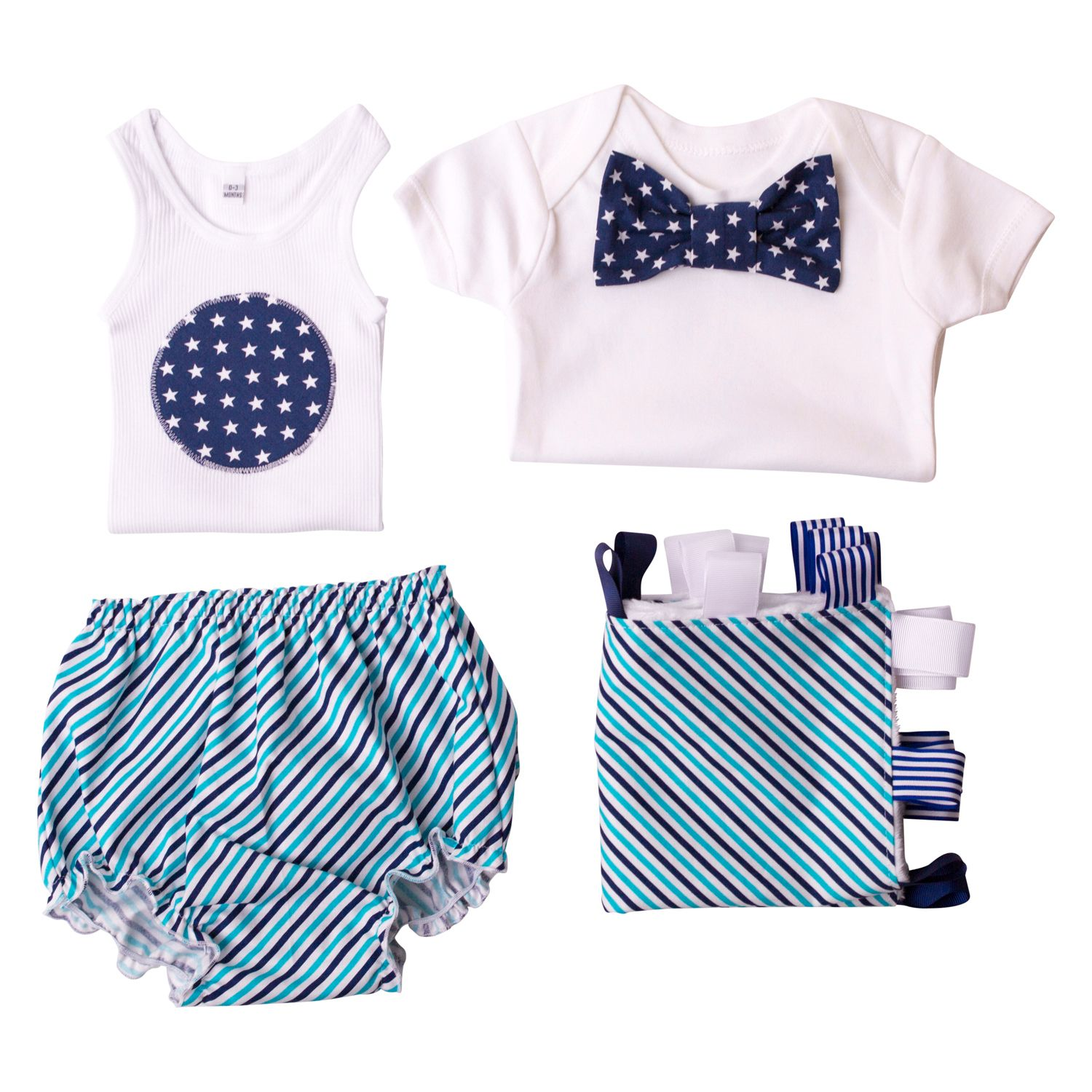 Boys' Flat Lay Collection Stars & Stripes