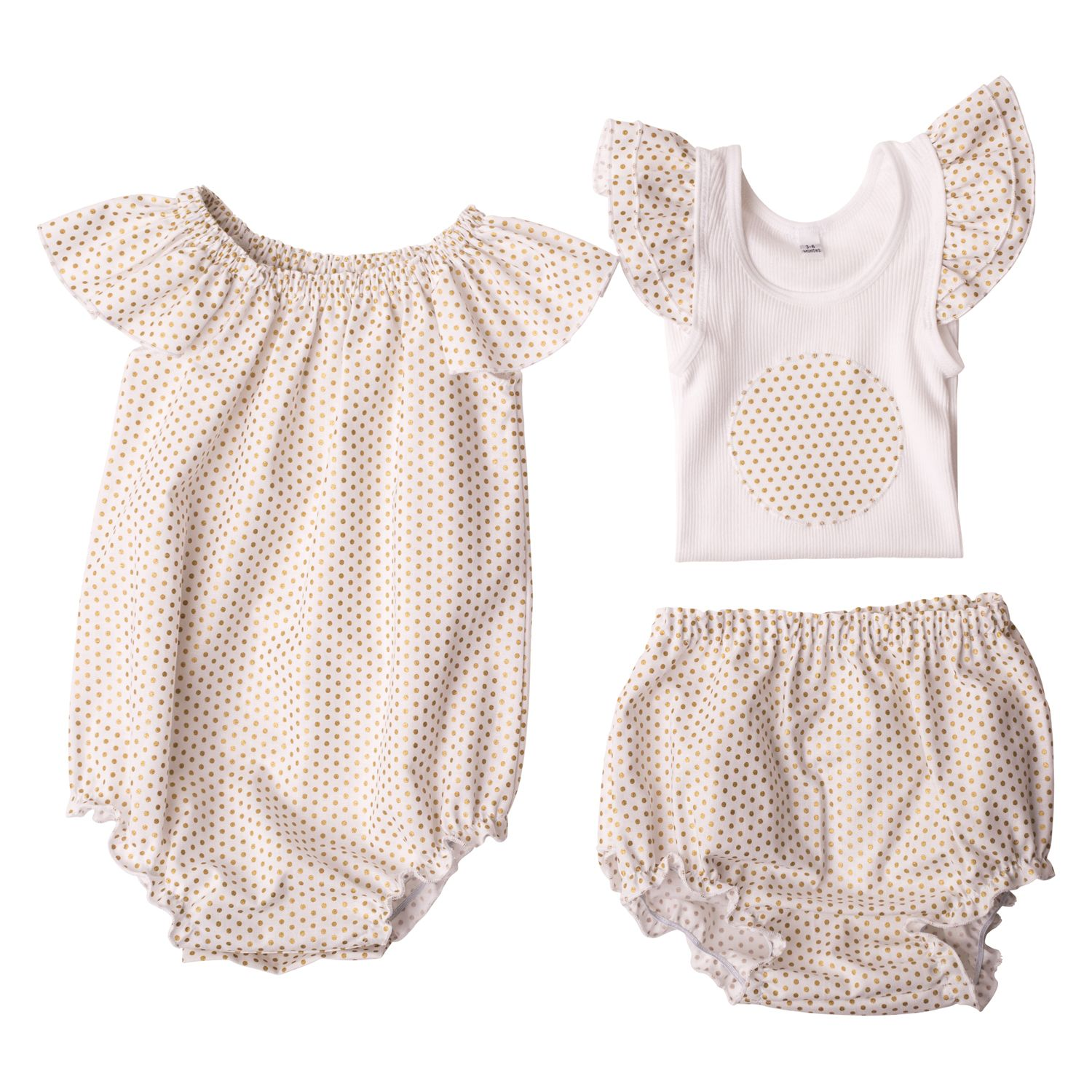 Girls Flat Lay Collection Little Miss Dotty