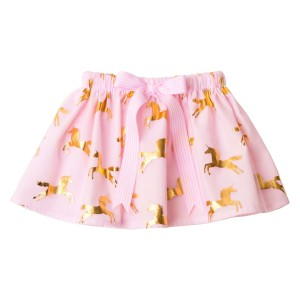 Girls Tutu Twirling Skirts Collection1Unicorn Pink Gold Tulle Tutu Skirt (1)