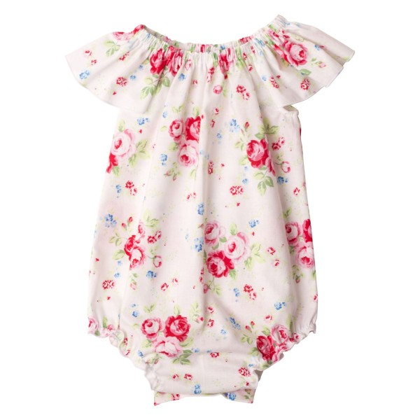 Miss Ruby Floral Collection5 Flutter Sleeve Romper