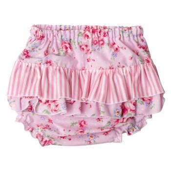 Pink Summer Floral Collection Pants Back3