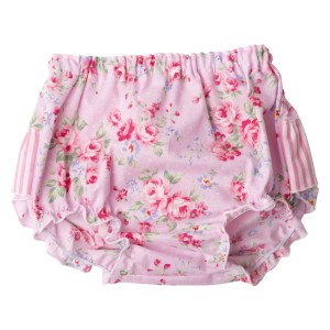 Pink Summer Floral Collection Pants Front2